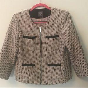 Vince Camuto Zippered Jacket - Size 6